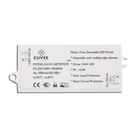 Compact LED Driver 24W 700mA