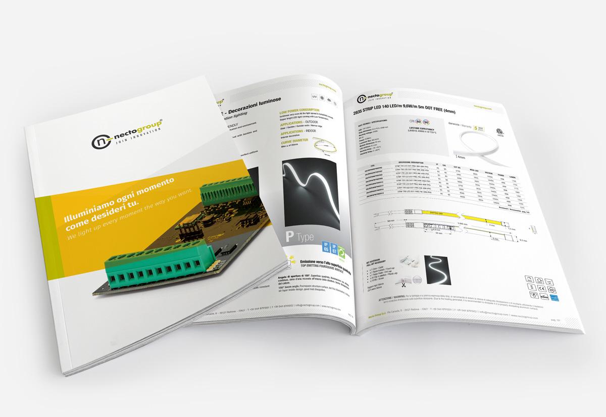 nuovo catalogo illuminazione necto group